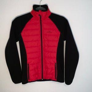 Lauren Ralph Lauren red/black puffer active jacket